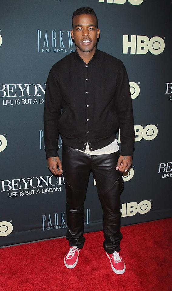 "Luke James attends the ""Beyonce: Life Is But A Dream"" New York Premiere at Ziegfeld Theater on February 12, 2013 in New York City."