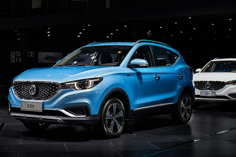 MG ZS Electric SUV Pre-Bookings Commence at Rs 50,000