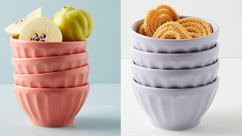 Add more color to your home with these bowls.