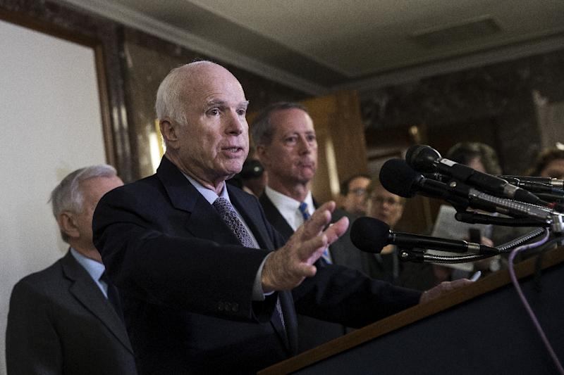 Sen. McCain to Miss Tax Vote Over Ongoing Health Issues