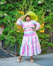 "<p>Hat lovers are gonna fall in love with Makeda's enviable collection. And she's a great go-to for tips on how to mix and match prints.</p><p><a href=""https://www.instagram.com/p/CA5QG1aFlLv"" rel=""nofollow noopener"" target=""_blank"" data-ylk=""slk:See the original post on Instagram"" class=""link rapid-noclick-resp"">See the original post on Instagram</a></p>"