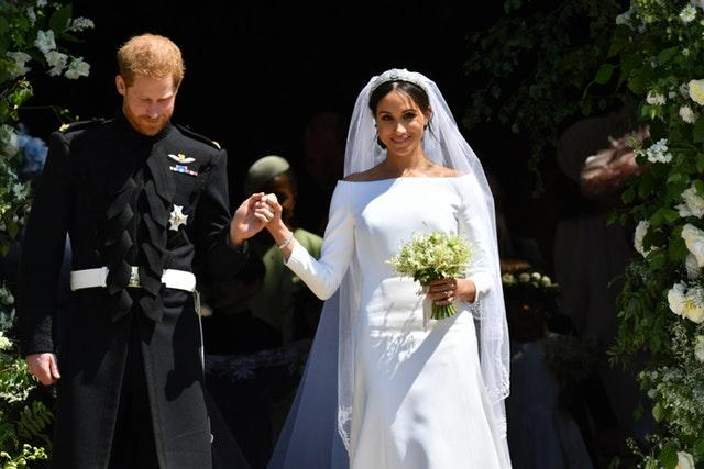 The Duchess of Sussex with Prince Harry