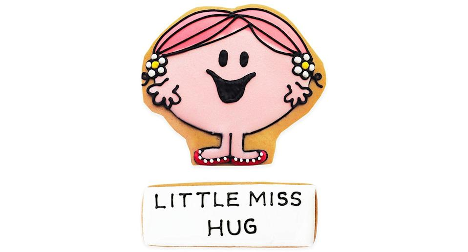 Little Miss Hug Letterbox Biscuit