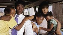 <p> Don Cheadle steals the show as hotel owner Paul Rusesabagina who helped house thousands of refugees inside the walls of his hotel, during the 1994 massacre in Rwanda, which saw one million Tutsis murdered. Dubbed the 'African Schindler's List', Hotel Rwanda deals with harrowing subjects, such as genocide and political corruption, while also capturing the power of human kindness through Rusesabaginas story. We dare you not to be moved. </p>
