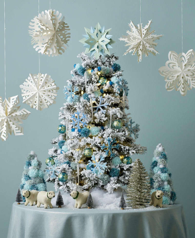29 Colorful Tabletop Christmas Trees to Instantly Transform a Small Space