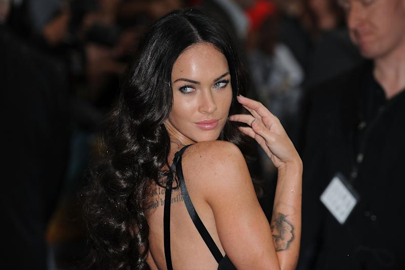 Megan Fox attends the UK premiere of 'Transformers: Revenge of the Fallen' at Odeon Leicester Square on June 15, 2009 in London, England.