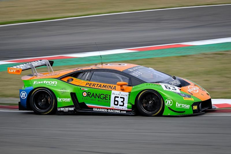 Lamborghini Duo Takes Third Sprint Cup Win