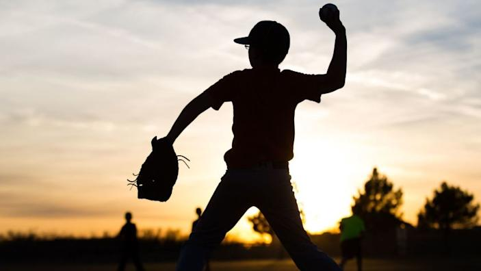 "Youth baseball tournaments by sanctioned organizations are being held in some states but not in California. <span class=""copyright"">(Courtney Sacco / Odessa American)</span>"