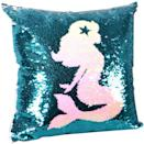 <p>The <span>leegleri Mermaid Sequins Pillow Case</span> ($14) will add a pop of color to your home.</p>