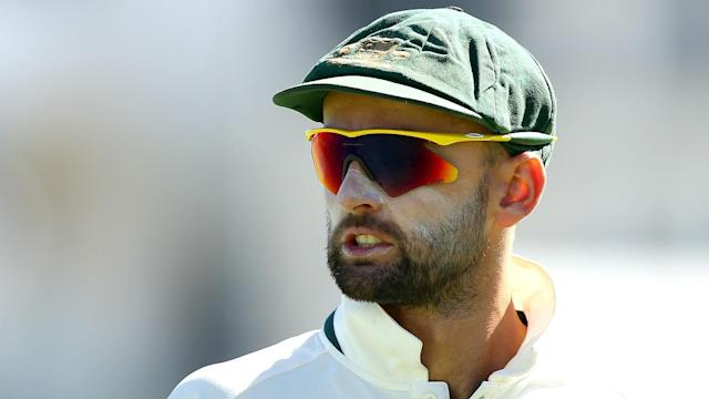 Four of Australia's six wickets on Sunday went to Nathan Lyon, but the spinner felt the attack could be proud of their collective efforts.