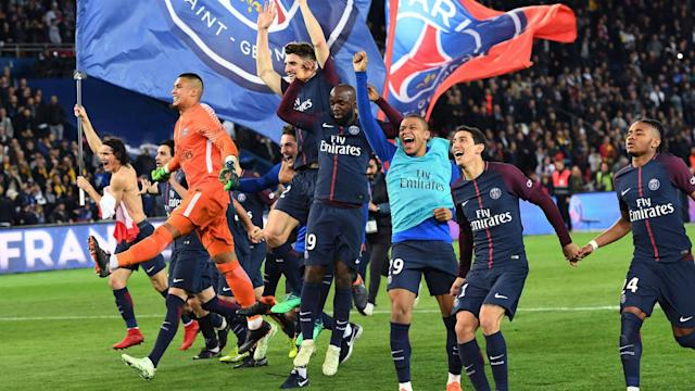 Paris Saint-Germain may have won a fifth Ligue 1 title in six years, but Unai Emery believes they have a long way to go to match the best.