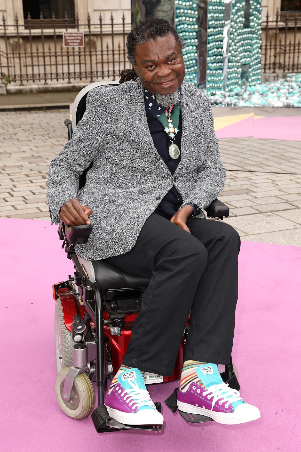 Artist Yinka Shonibare is also a backer. (Photo by Darren Gerrish/WireImage for The Royal Academy of Arts)