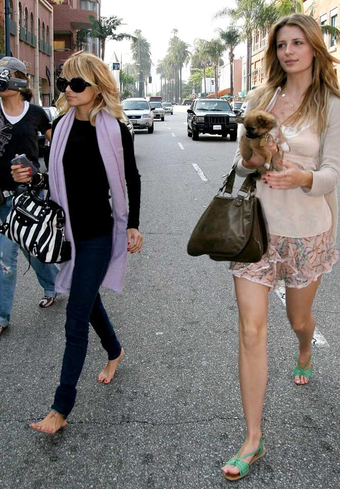 """Maybe Nicole can pick up some new shoes on this Beverly Hills shopping trip with BFF Mischa Barton. NB/<a href=""""http://www.x17online.com"""" target=""""new"""">X17 Online</a> - May 9, 2006"""