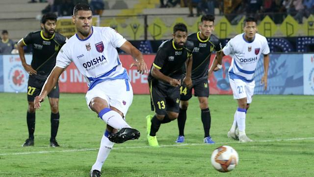 Marcelinho's goal in the first minute could not help Hyderabad take all three points...
