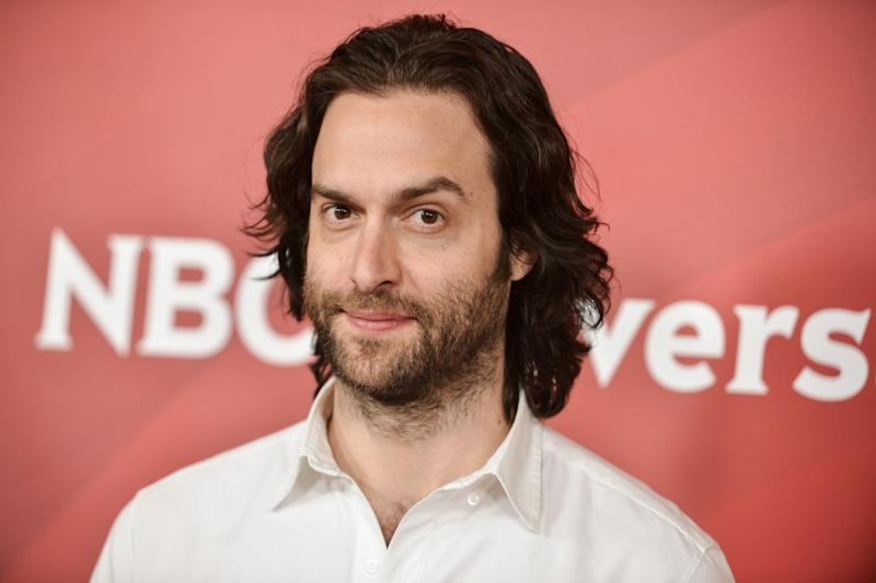 Chris D'Elia arrives at the NBC Universal Summer Press Day on Tuesday, April 8, 2014, in Pasadena, Calif. (Photo by Richard Shotwell/Invision/AP)