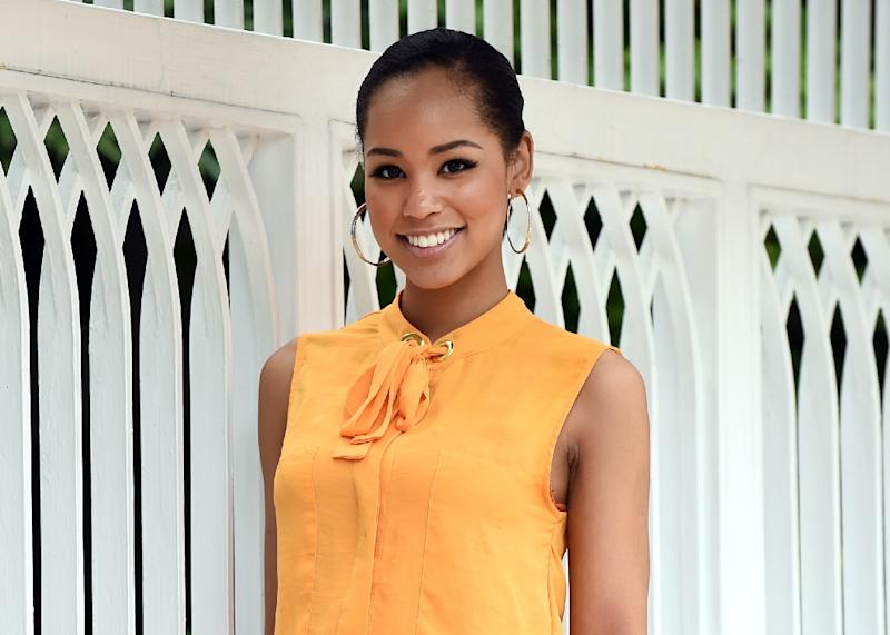 Miss Japan Ariana Miyamoto has resolved to use her new-found fame to help fight racial prejudice (AFP Photo/Toru Yamanaka)
