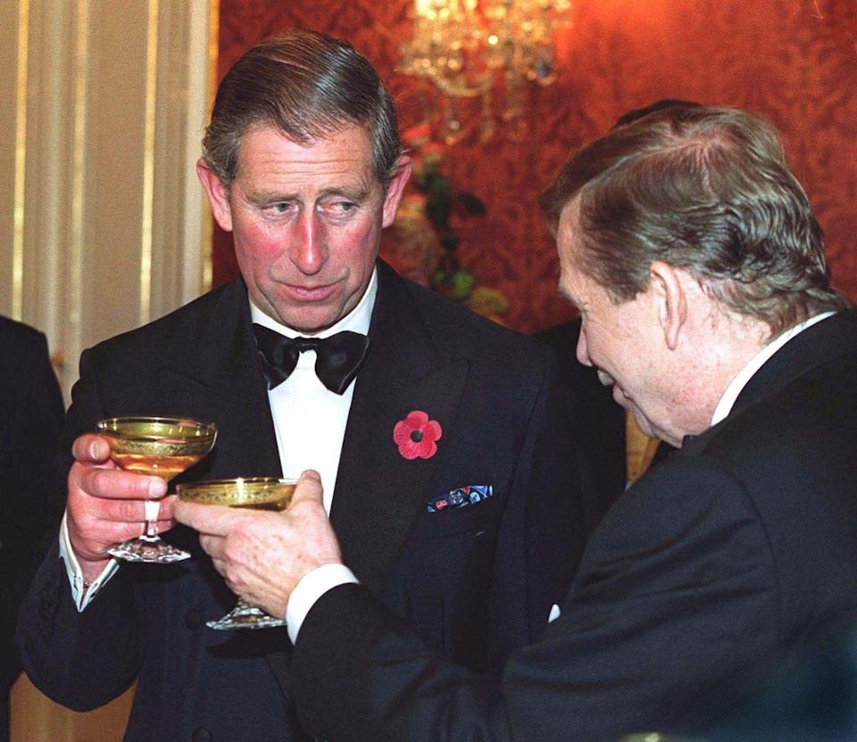 """<p>A good royal knows how to make a toast. They are expected to have something more to say to their dinner guests than a simple """"Cheers!""""</p>"""