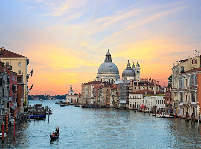 <p>The best way to explore this floating city is to hop on a gondola and glide along the complex series of canals. There is a ton of Renaissance art, architecture and history to be found here...in addition to lots of delicious authentic Italian dining.</p>