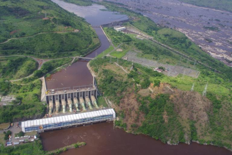 DR Congo's Inga power plants on the river are a key part of its energy programme