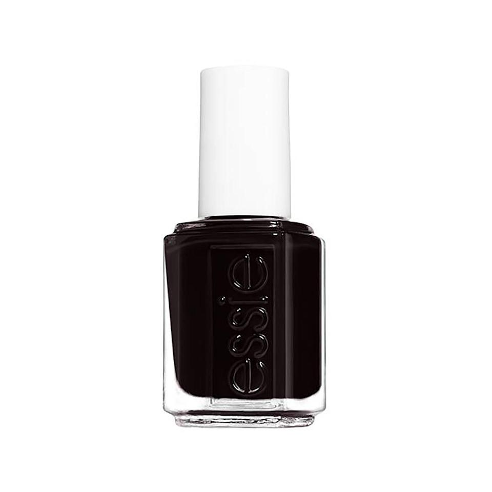 """<p>A dark, nearly black shade of brown adds an element of mystery to your manicure. An example of this is Essie Nail Enamel in Wicked, which Elle said was born from the demand for vampy shades after Chanel Le Vernis in Vamp had initially sold out.</p> <p><strong>$9</strong> (<a href=""""https://shop-links.co/1692775525655469388"""" rel=""""nofollow noopener"""" target=""""_blank"""" data-ylk=""""slk:Shop Now"""" class=""""link rapid-noclick-resp"""">Shop Now</a>)</p>"""