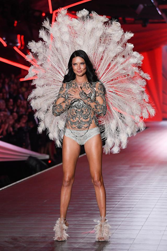 """Actually, the Victoria's Secret show is the highlight of my life,"" the longtime Angel told the U.K.'s <a href=""http://fashion.telegraph.co.uk/article/TMG8872623/Victorias-Secret-show-What-does-it-take-to-be-a-Victorias-Secret-Angel.html""><em>The Telegraph</em></a> in 2011. ""Becoming an Angel, once I achieved that, it was a dream come true for me ... Any model in this world would love to be an Angel.""  Lima ended her 20-year tenure as one of the show's most recognizable models in 2018. Revered by the rest of the VS models as <a href=""https://people.com/style/victorias-secret-fashion-show-adriana-lima/"">The Guardian Angel</a>, the Brazilian bombshell <a href=""https://people.com/style/adriana-lima-retiring-victorias-secret-walks-last-show/"">reflected fondly to PEOPLE</a> on her 18 shows with the brand before bidding a tearful farewell on the runway.  ""I think this year is going to be the highlight of my career,"" she said. ""This has been my 18th fashion show and I am still as excited as I was from the first day. I always love to be on runways and being part of the Victoria's Secret show. It's my favorite to do."""