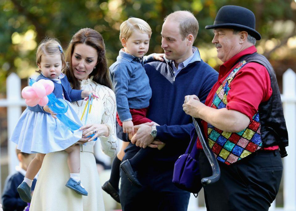 Hands-on parents Kate and Wills are set to add another to their brood. Photo: Getty