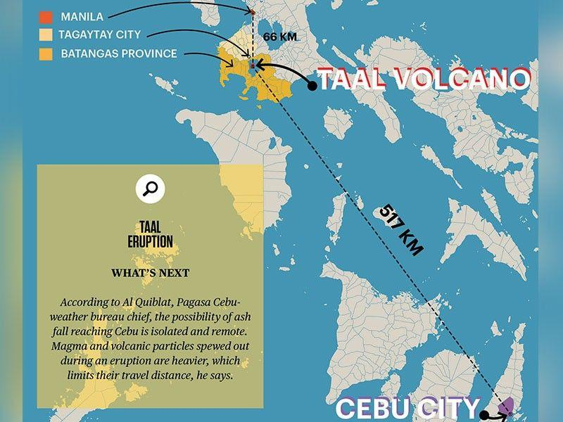 Safety measures in place at Mactan airport for passengers stranded by Taal 'eruption'
