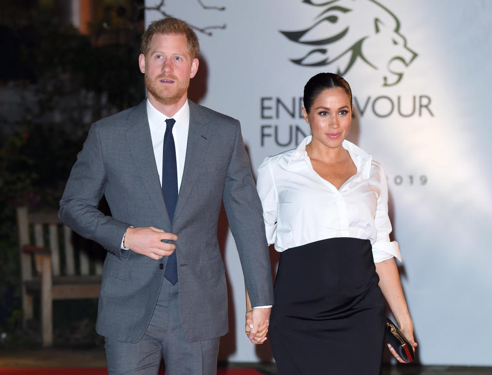 Harry and Meghan are keeping birth plans private [Photo: Getty]