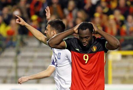 Football Soccer - Belgium v Greece - 2018 World Cup Qualifying European Zone