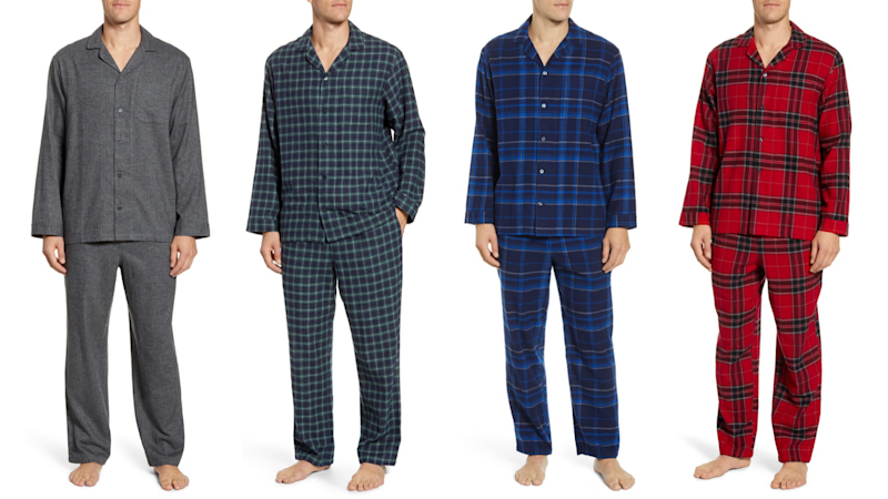Best gifts for grandpa 2019: Flannel pajamas
