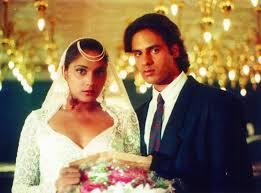 Anu Aggarwal and Rahul Roy in Aashiqui