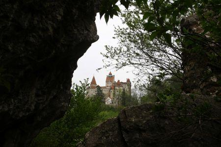 A general view shows Bran Castle, also known as Dracula's Castle, in the Carpathian mountains, 200km (124 miles) north of Bucharest, Romania in this May 19, 2006 file photo.