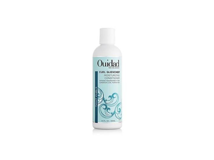 curl quencher moisturizing conditioner, best ouidad hair products