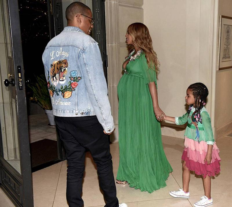 blue ivy 3 This Is the $26K Gucci Dress Blue Ivy Wore to the Beauty and the Beast Premiere