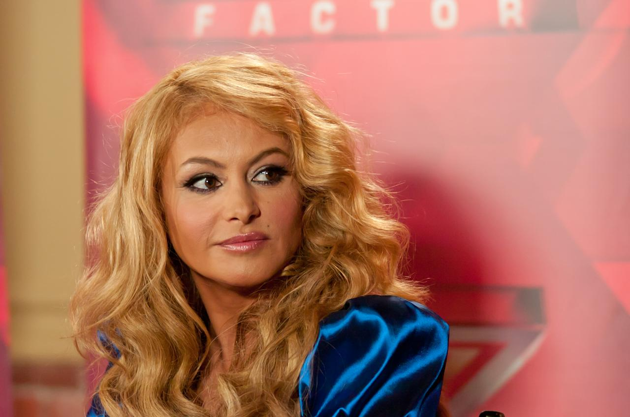 "UNIONDALE, NY - JUNE 20:  Paulina Rubio attends the ""The X Factor"" Judges press conference at Nassau Veterans Memorial Coliseum on June 20, 2013 in Uniondale, New York.  (Photo by Steven A Henry/WireImage)"