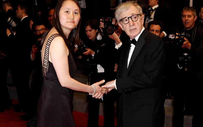 Soon-Yi Previn and Woody Allen in 2010 - AP