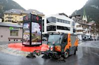 When infected tourists fled Ischgl, migrant workers were left behind to clean up and close down