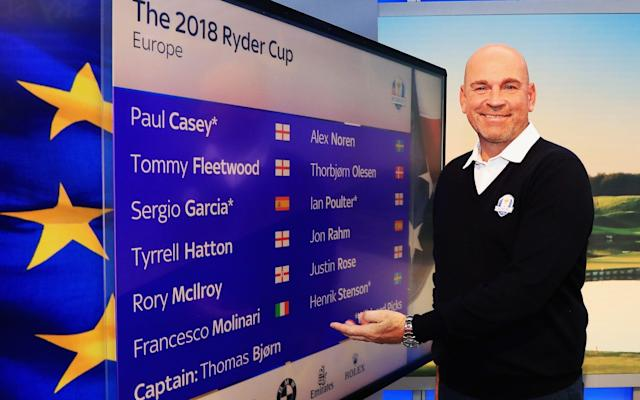 Six ofThomas Bjorn's players will be inAtlanta a week before the Ryder Cup showdown in France - Getty Images Europe