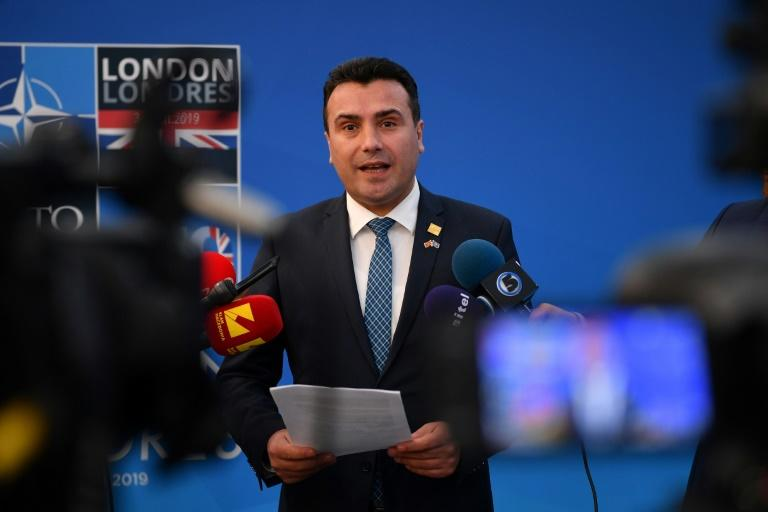 The EU's decision not to open membership talks with North Macedonia prompted Zoran Zaev to step down as prime minister and opened the path for an election (AFP Photo/DANIEL LEAL-OLIVAS)