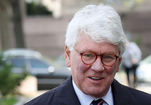 PHOTO: Greg Craig, former White House counsel under former U.S. President Barack Obama, arrives at U.S. District Court for his arraignment April 12, 2019, in Washington, DC. (Win Mcnamee/Getty Images, FILE)