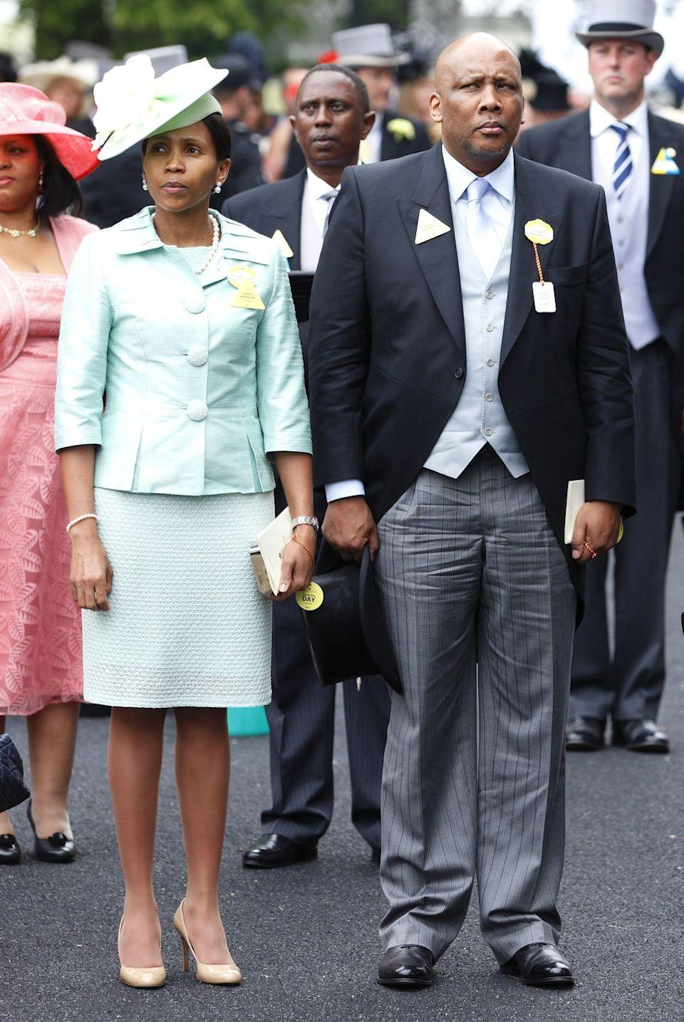 <p>Seeiso and King Letsie III of Lesotho became engaged she was still attending National University of Lesotho. Queen 'Masenate is involved with charity work and public health, known for her work in fighting HIV/AIDS and working with orphanages. </p>