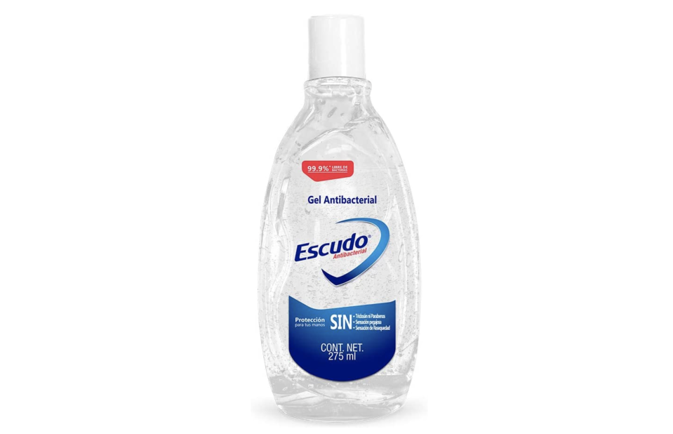 Escudo Gel Antibacterial 275ml. Foto: amazon.com.mx