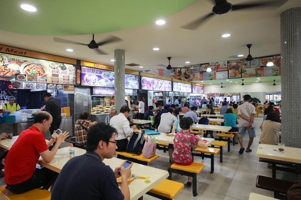A coffeeshop in the neighbourhood of Bishan. (Yahoo News Singapore file photo)