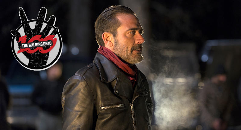Jeffrey Dean Morgan as Negan in AMC's The Walking Dead.