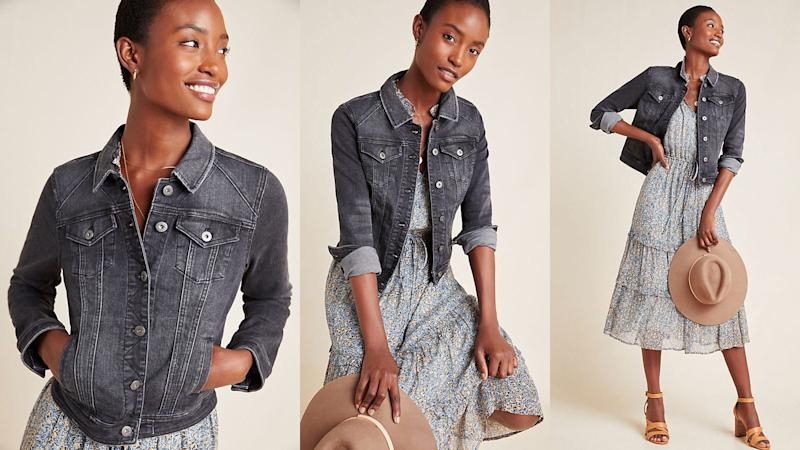 Add some edge into your jean jacket rotation.