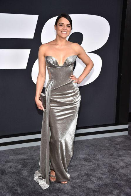 michelle rodriguez A Complete Guide To Black Tie Formal Wear: What It Means, What Dress to Choose, and More