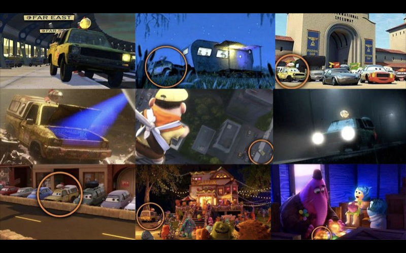 There's been plenty of Pizza Planet appearances (credit: Pixar)