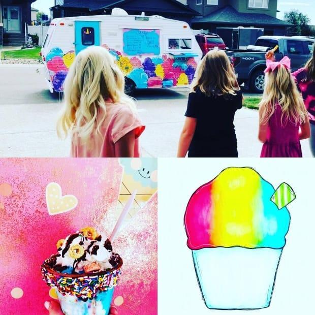 The Sweet Treats cupcake trailer is being fixed after vandals tore up its inside last weekend.  (Sweet Treats/Facebook - image credit)