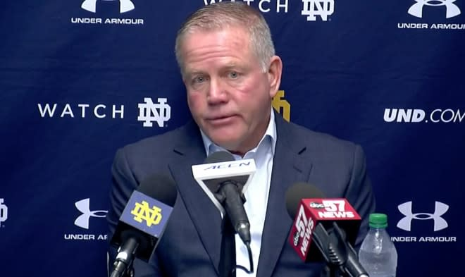 How Brian Kelly's Embrace Of What's Next Gave Notre Dame A Jolt
