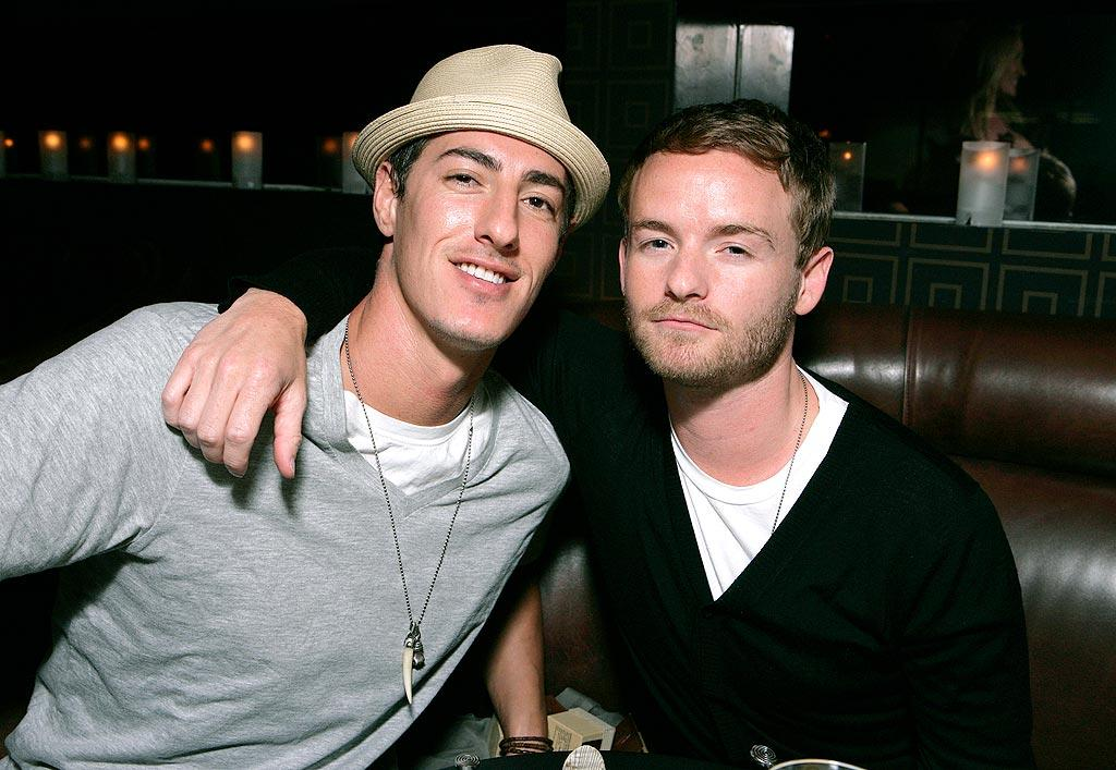 """Eric Balfour and Chris Masterson (""""Malcolm in the Middle"""") strike a pose. Todd Williamson/<a href=""""http://www.wireimage.com"""" target=""""new"""">WireImage.com</a> - May 20, 2008"""